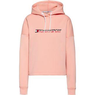 Tommy Sport Hoodie Damen dusty pink