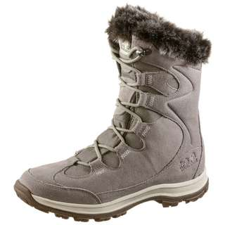 Jack Wolfskin Glacier Bay Texapore Winterschuhe Damen light grey-champagne
