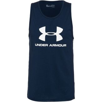 Under Armour Sportstyle Logo Funktionstank Herren navy