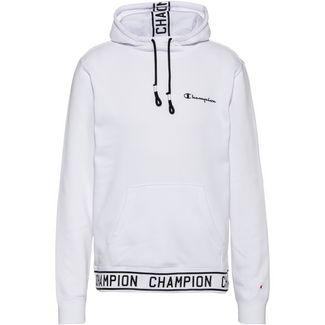 CHAMPION Hoodie Herren white