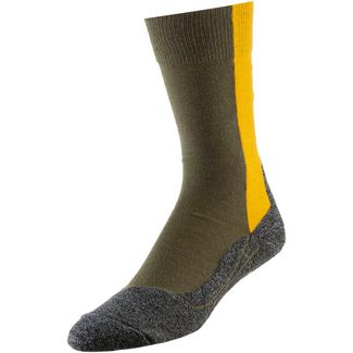Falke TK2 Thread Men Wandersocken Herren olive