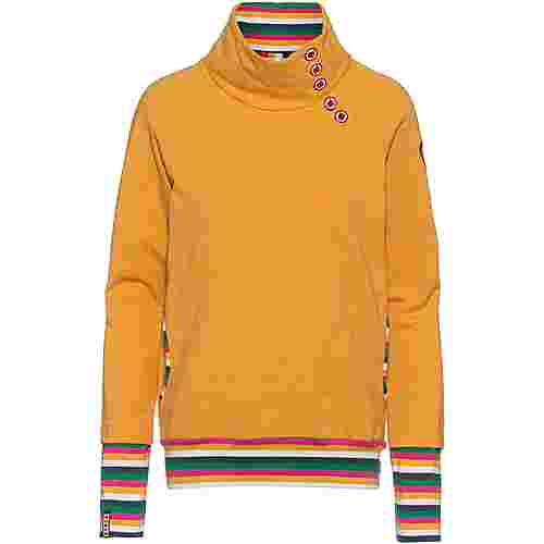 Blutsgeschwister Oh So Nett Sweatshirt Damen retro yellow