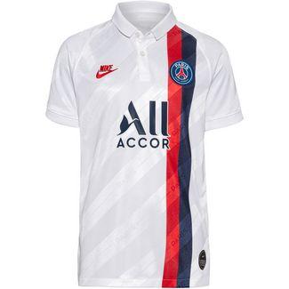Nike Paris Saint-Germain 19/20 3rd Fußballtrikot Kinder white-university red