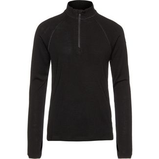 Icebreaker Merino Tech Funktionsunterhemd Kinder black