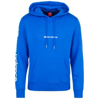 NEW BALANCE Sport Style Optiks Hoodie Herren blau
