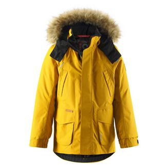 reima Serkku Daunenjacke Kinder Dark yellow
