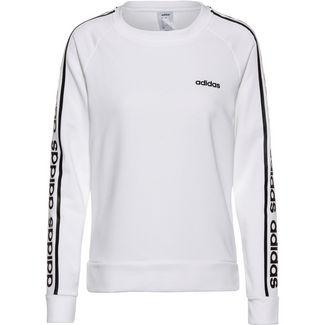 adidas Sweatshirt Damen white-black