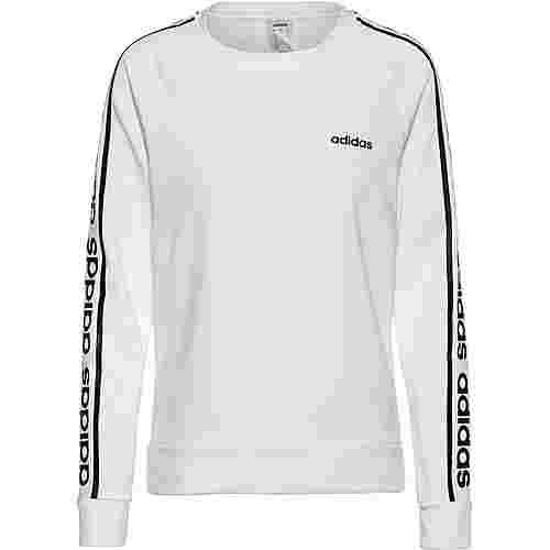 adidas Sweatshirt Damen white-black