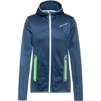 ORTOVOX Merino Fleecejacke Herren night blue