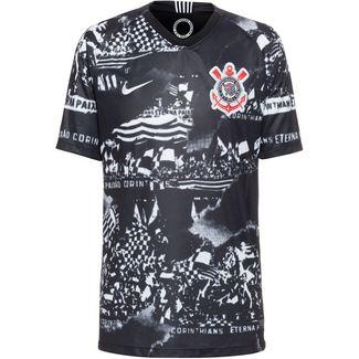 Nike SC Corinthians 19/20 3rd Fußballtrikot Herren black white