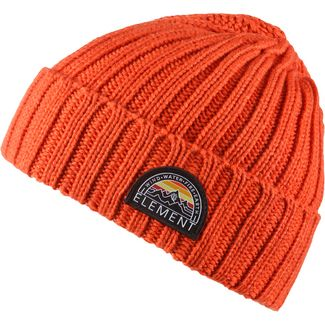 Element Counter Beanie Herren burnt ochre