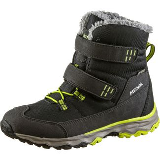 MEINDL Altino Winterschuhe Kinder anthrazit-lemon