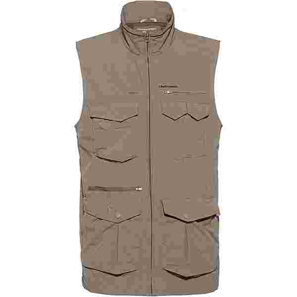 Craghoppers NosiLife Adventure Gilet II Outdoorweste Herren pebble