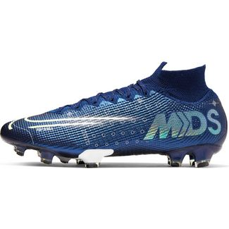 Nike MERCURIAL SUPERFLY 7 ELITE MDS FG Fußballschuhe Herren blue void-metallic silver-white-black