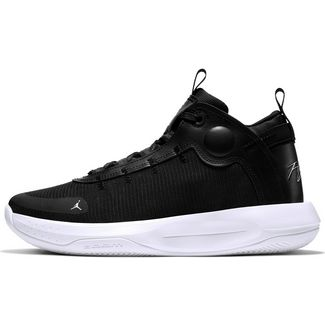 Nike Jordan Jumpman 2020 Basketballschuhe Herren black-white-electric green