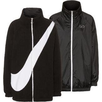 Nike NSW SWSH Fleecejacke Damen black-white