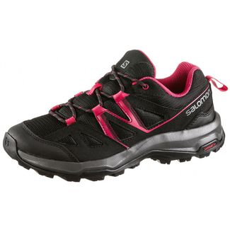 Salomon Impala W Wanderschuhe Damen black-black-barberry