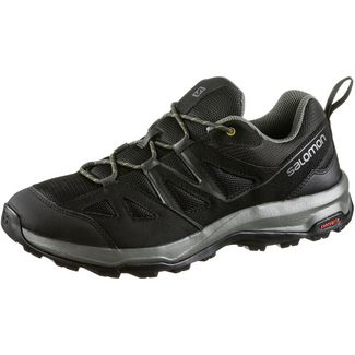 Salomon Impala Wanderschuhe Herren black-peat-golden palm