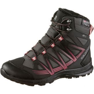 Salomon Woodsen 2 Winterschuhe Damen phantom-black-garnet rose