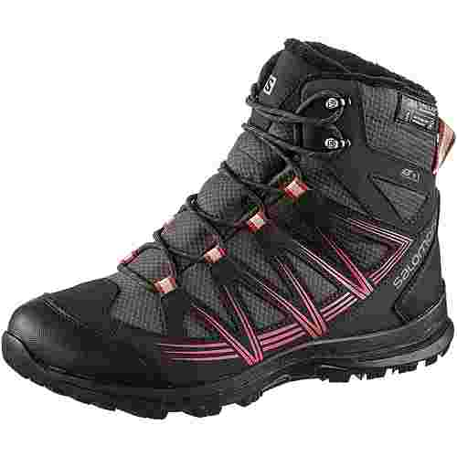 Salomon Woodsen 2 TS CSWP W Winterschuhe Damen phantom-black-garnet rose