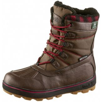 Kamik Sesame Winterschuhe Kinder dark-brown-brun-fonce