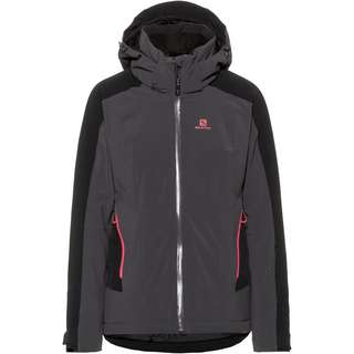 Salomon Brilliant Skijacke Damen ebony-black