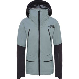 The North Face Steep Purist Hardshelljacke Damen trellis grn-weathrd black