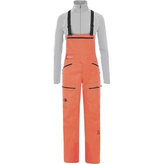 The North Face Steep Purist Bib Skihose Damen radiant orange
