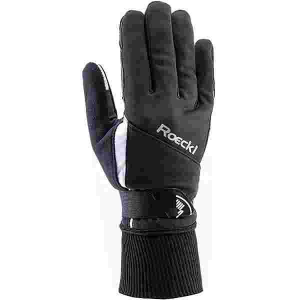 Roeckl GORE-TEX Lappi Langlaufhandschuhe schwarz-weiß