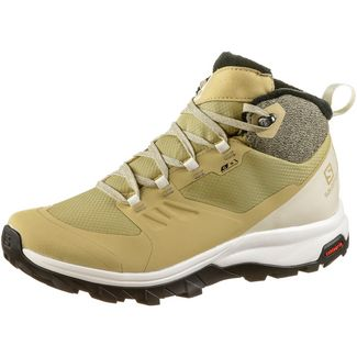 Salomon Outsnap Winterschuhe Damen taos taupe-vanilla-phantom