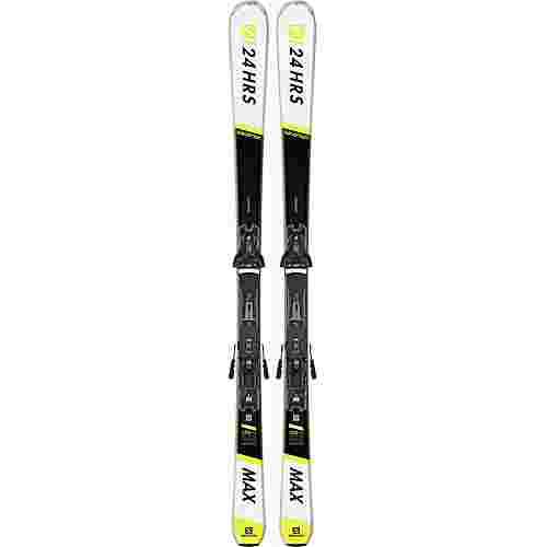Salomon E 24 HOURS MAX + Z12 GW All-Mountain Ski black-white