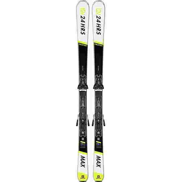 Salomon E 24 HOURS MAX + Z12 GW All-Mountain Ski black-white
