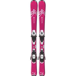 Salomon E QST LUX JR S+ C5 GW J All-Mountain Ski Kinder pink