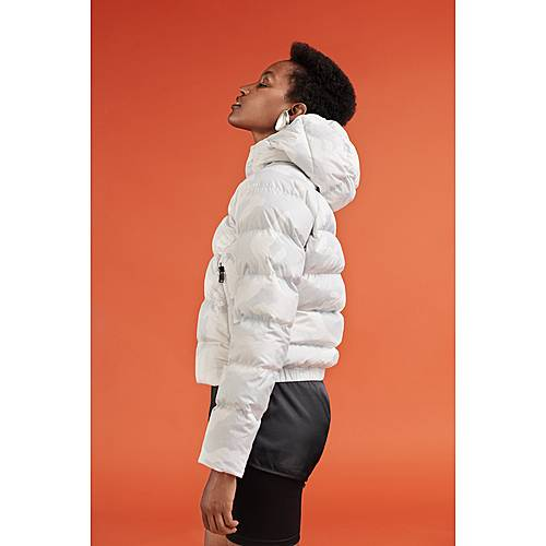 The North Face Hyalite Crop Daunenjacke Damen tnf white waxed camo prnt im Online Shop von SportScheck kaufen