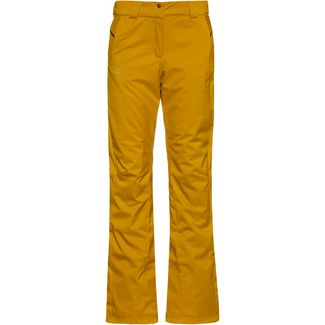 Salomon Stormseason Skihose Damen golden palm
