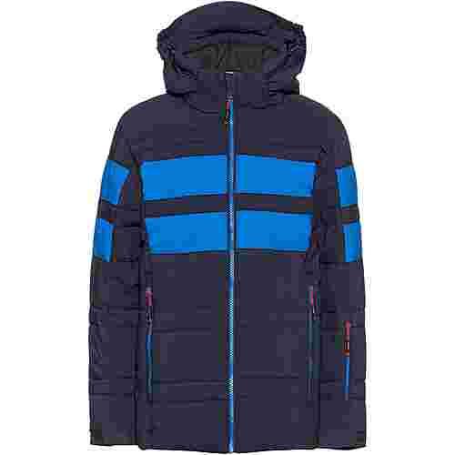 CMP Skijacke Kinder black blue