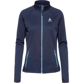Odlo Proita Fleecejacke Damen diving navy