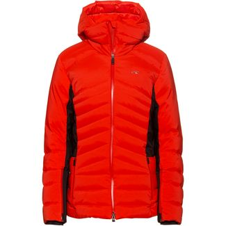 KJUS Duana Skijacke Damen fiery red-black
