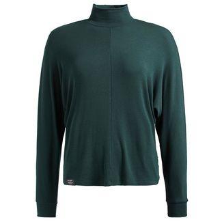 Khujo FRABASIA Langarmshirt Damen dunkelgrün