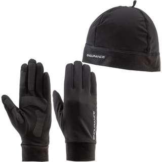 Endurance Gubeng Set Mütze und Handschuhe black
