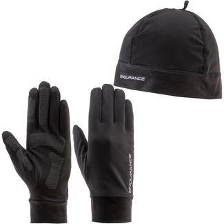 Endurance Gubeng Set aus Mütze, Schal und Handschuhe black