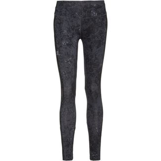 Salomon AGILE Tights Damen ebony-black-ao