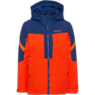 Ziener Paleon Skijacke Kinder new-red