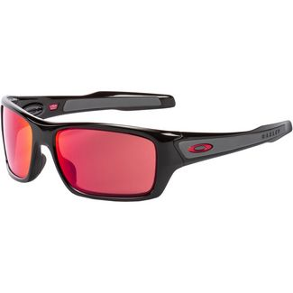 Oakley Turbine Sonnenbrille polished black with prizm snow torch