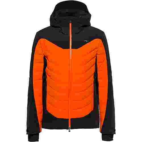 KJUS Sight Line Skijacke Herren black-KJUS orange