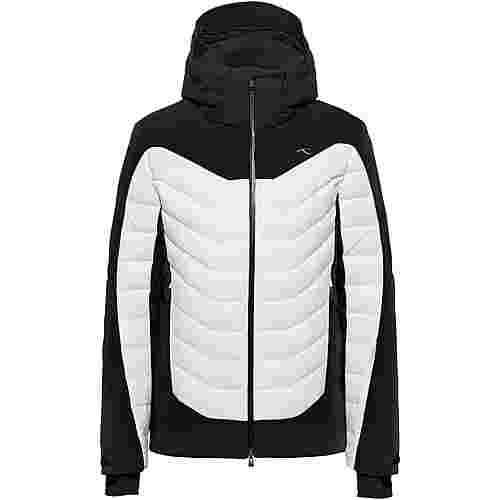KJUS Sight Line Skijacke Herren black-white