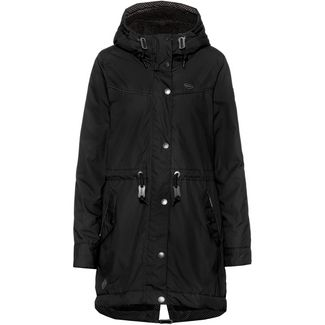 Ragwear Canny Parka Damen black