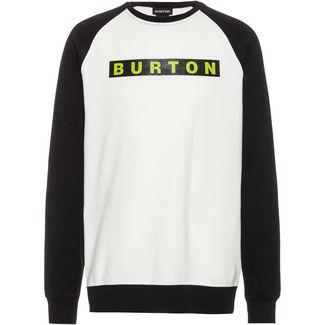 Burton Vault Crew Sweatshirt Herren stout white