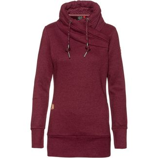 Ragwear Neska Sweatshirt Damen wine red
