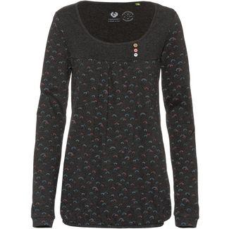 Ragwear Brazil Organic Langarmshirt Damen black